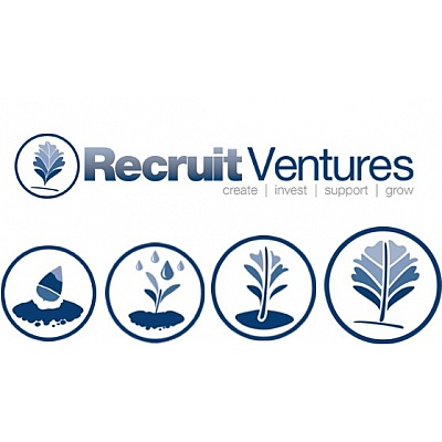 Recruit Venture logo and icons